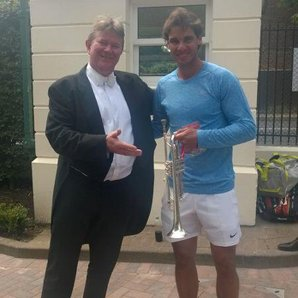Rafael Nadal and London Philharmonic Orchestra
