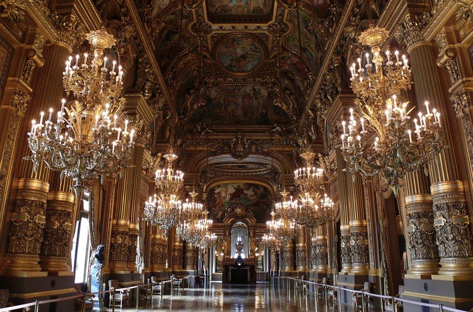 Paris Palais Garnier Opera