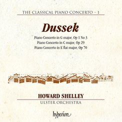 Dussek piano concertos Howard Shelley Ulster Orche