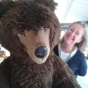 Anne-Marie Minhall Verbier 2014 bear