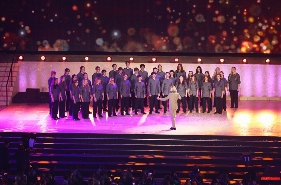 Eric Whitacre's National Virtual Youth Choir