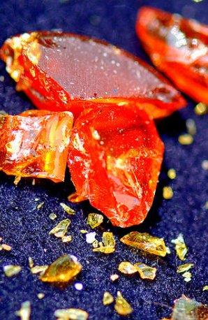 shattered violin rosin