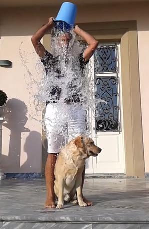 Andrea Bocelli Ice Bucket Challenge