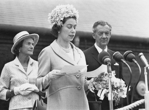 Queen Elizabeth Benjamin Britten