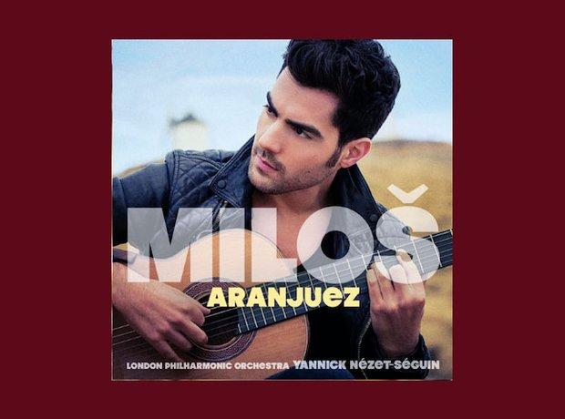 best-selling classical album 2014 milos aranjuez