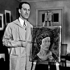George Gershwin painting