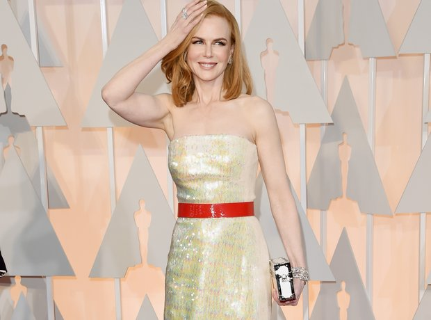 Nicole Kidman arrives at the Oscars 2015