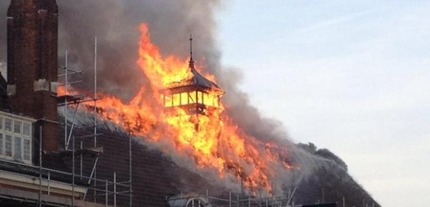 battersea arts centre fire