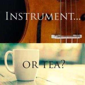 instrument or tea