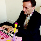 Stephen Hough plays the pink piano