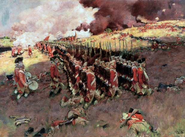 Battle of Bunker Hill Howard Pyle