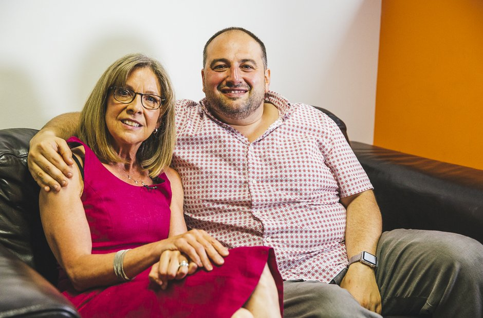 Jane Jones and Wynne Evans