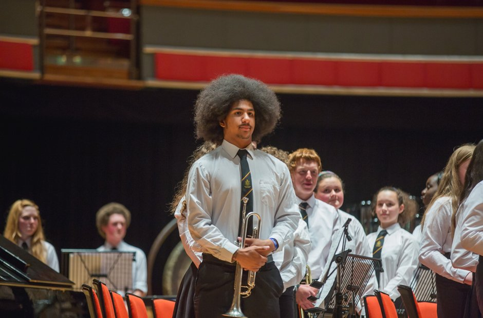 Abraham Darby Academy Showband