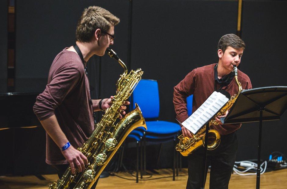 Junior Trinity Saxophone Quartet