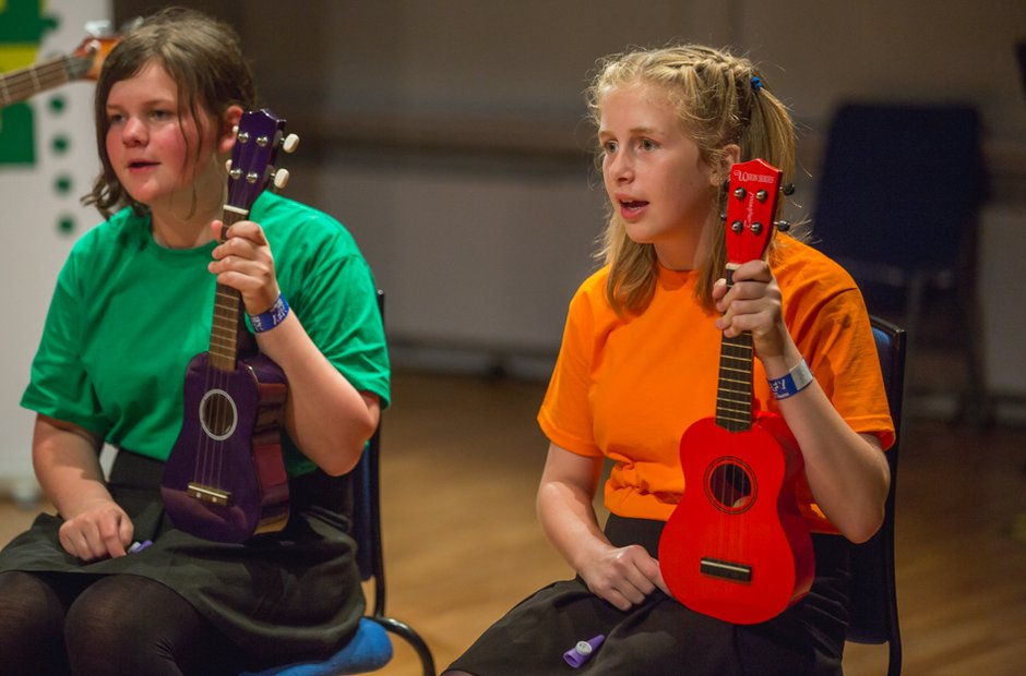 King Arthur's School Ukulele Ensemble