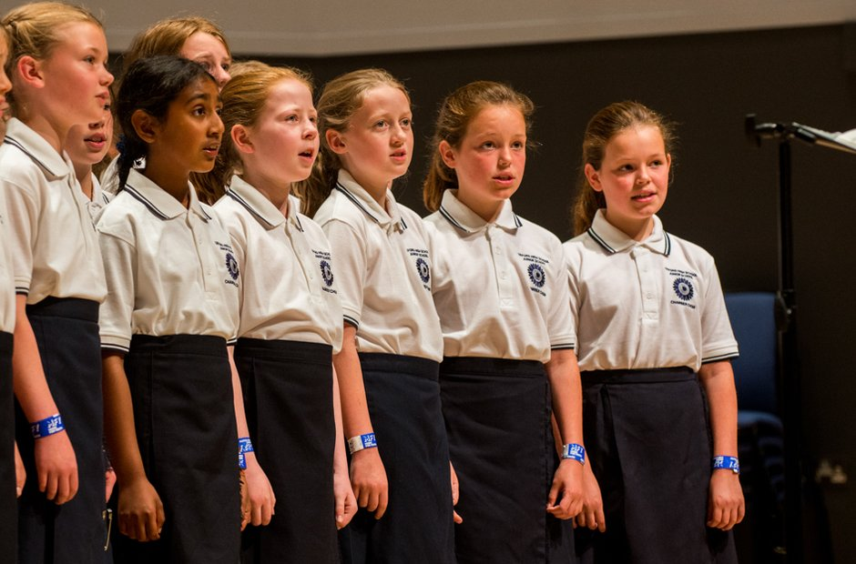 Oxford High Junior School Chamber Choir