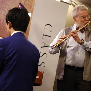 Ji Liu and Sir James Galway Classic FM Live 2015 B