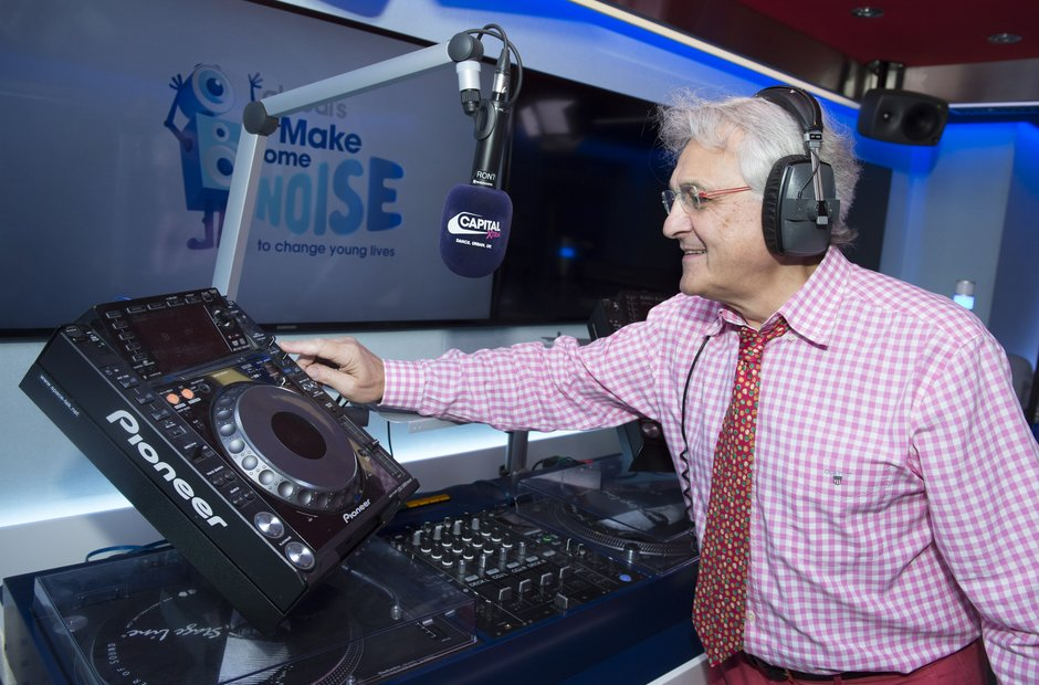 John Suchet CapitalXtra Make Some Noise 2015