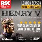 Henry V Barbican new image