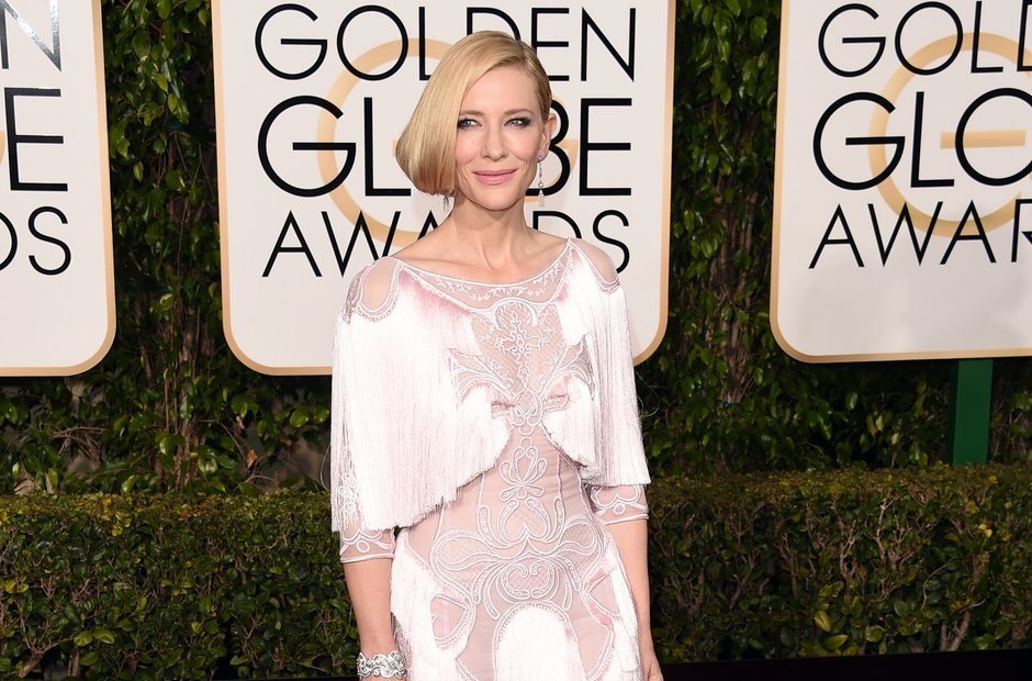Cate Blanchett Golden Globe Awards 2016