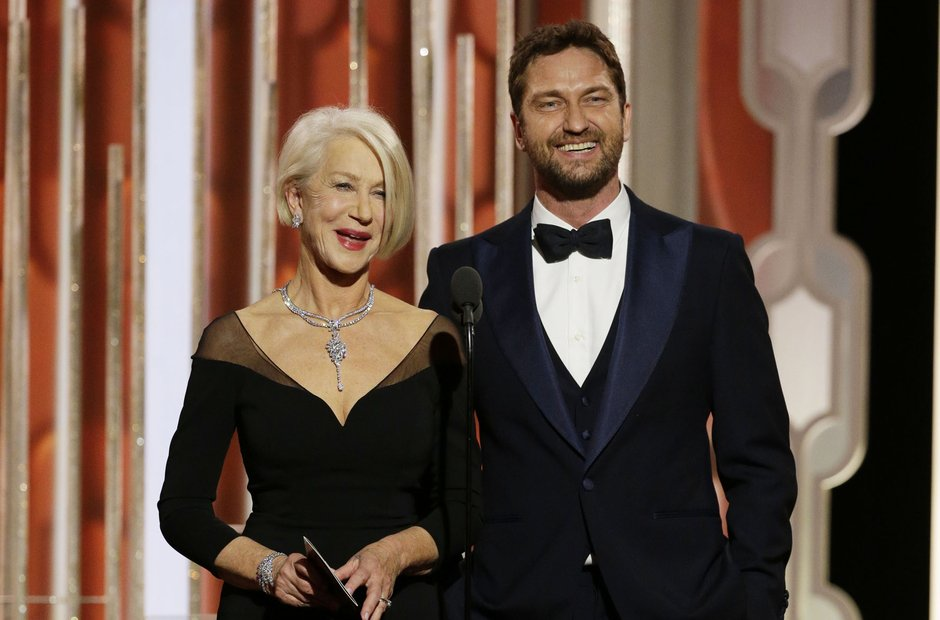 Helen Mirren and Gerard Butler