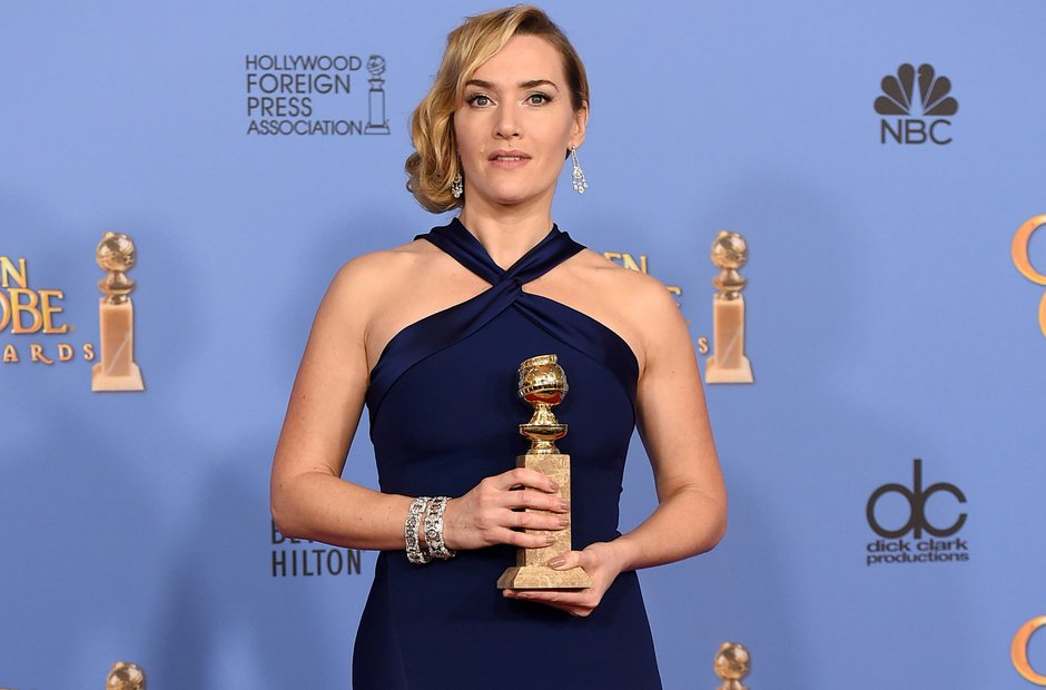 Kate Winslet Golden Globe 2016