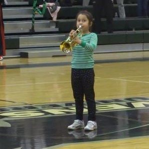 7-year-old trumpeter National Anthem video