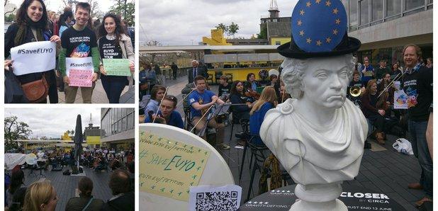 EUYO protests
