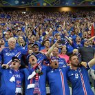 Iceland fans national anthem Euro 2016
