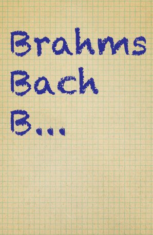 B composers quiz