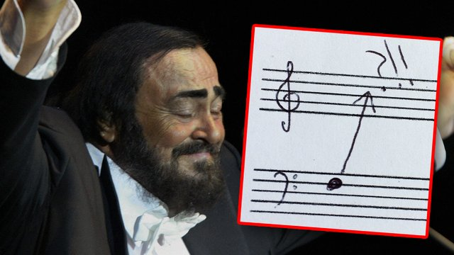 listen to pavarotti s complete vocal range in one minute and it s really something classic fm