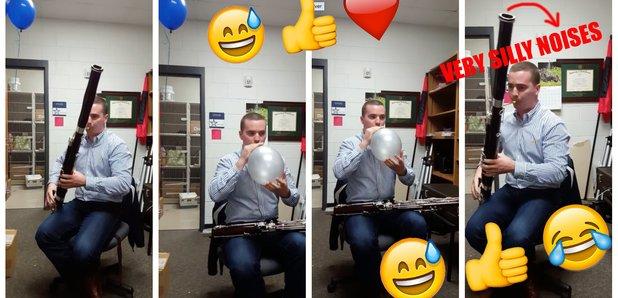 Andrew Wojo bassoon helium