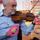 jeremy corbyn violin