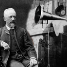Tchaikovsky and Edison with his phonograph